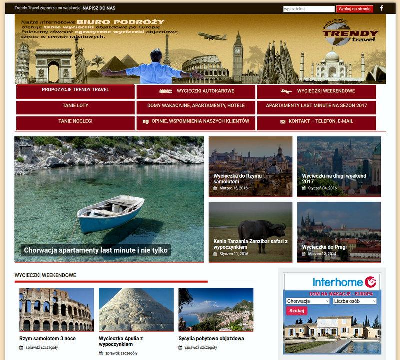 polecane wycieczki objazdowe po Europie, wycieczki egzotyczne oraz tanie noclegi